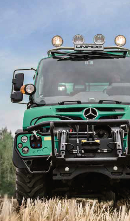 Agricultural Unimogs and Equipment from South Cave Tractors Ltd, The Home of Mercedes-Benz Unimog in the UK