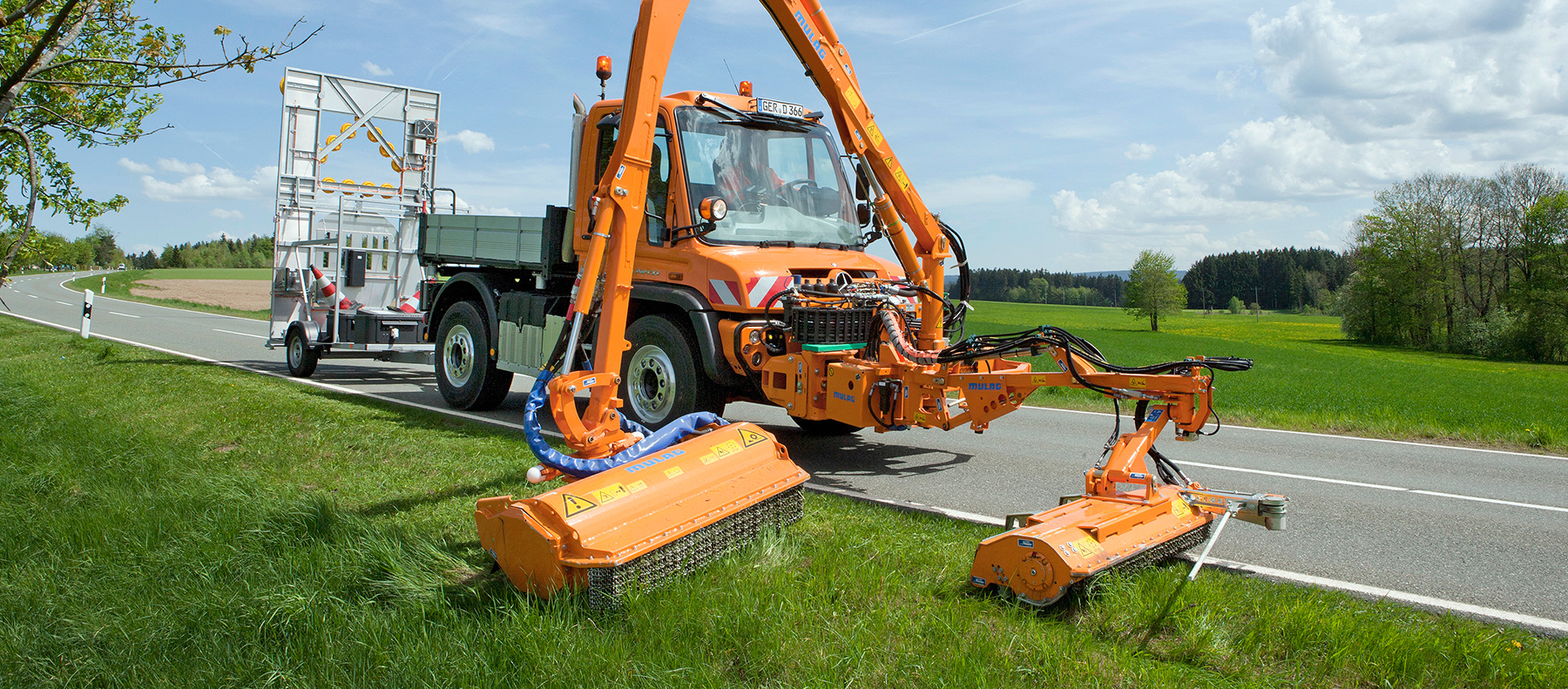 Municipal, Highways and verge maintenance Unimog and Equipment from South cave Tractors Ltd, The Home of Mercedes-Benz Unimog in the UK