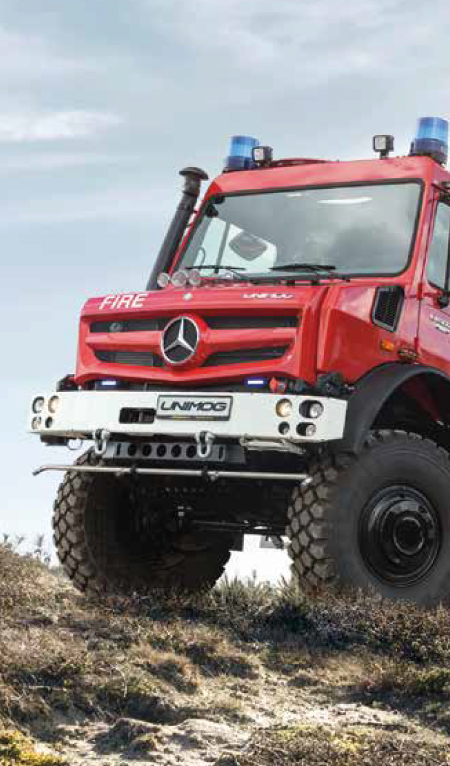 Fire and Rescue Services Unimogs and Equipment from South Cave Tractors Ltd, The Home of Mercedes-Benz Unimog in the UK