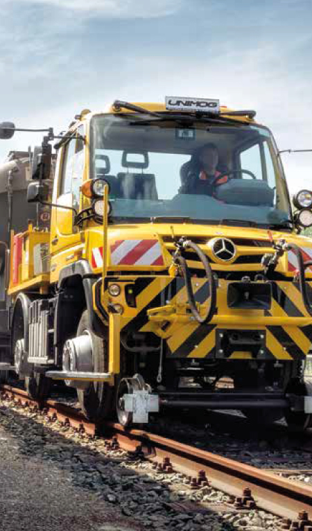 Road-Rail RRV Unimogs and Equipment from South Cave Tractors Ltd, The Home of Mercedes-Benz Unimog in the UK