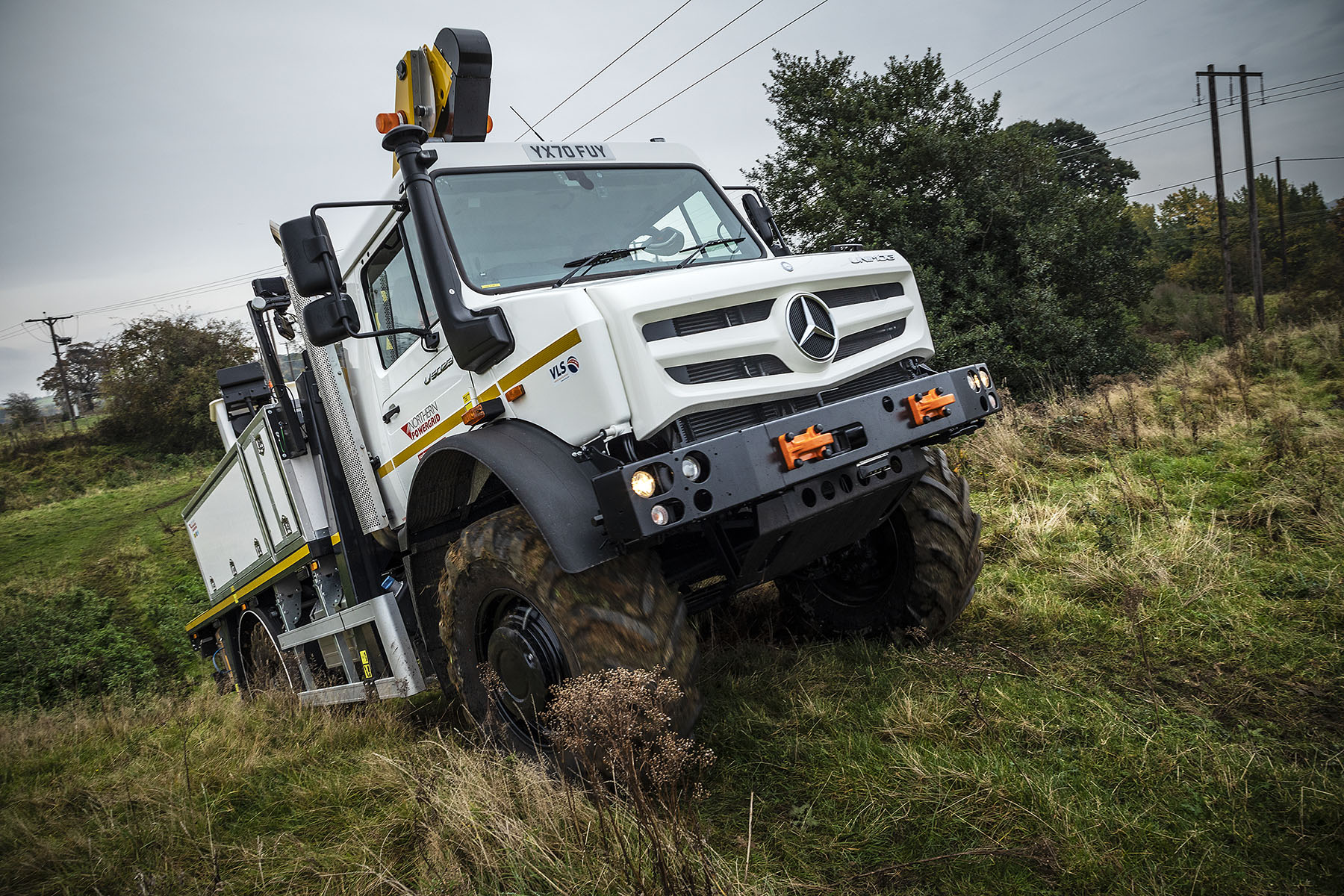 Utilities and energy companies come to The Home of Mercedes-Benz Unimog in the UK
