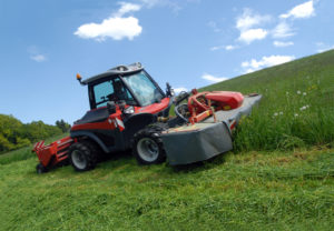 The Aebi Terratrac bank mower and Equipment from South cave Tractors Ltd,The Home of Mercedes-Benz Unimog in the UK