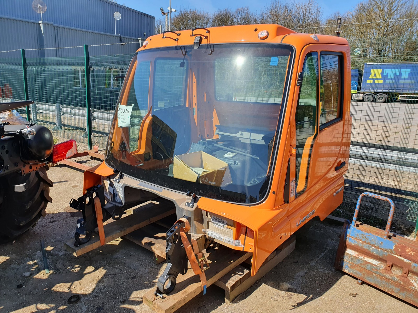 NEW UNIMOG CAB FOR SALE