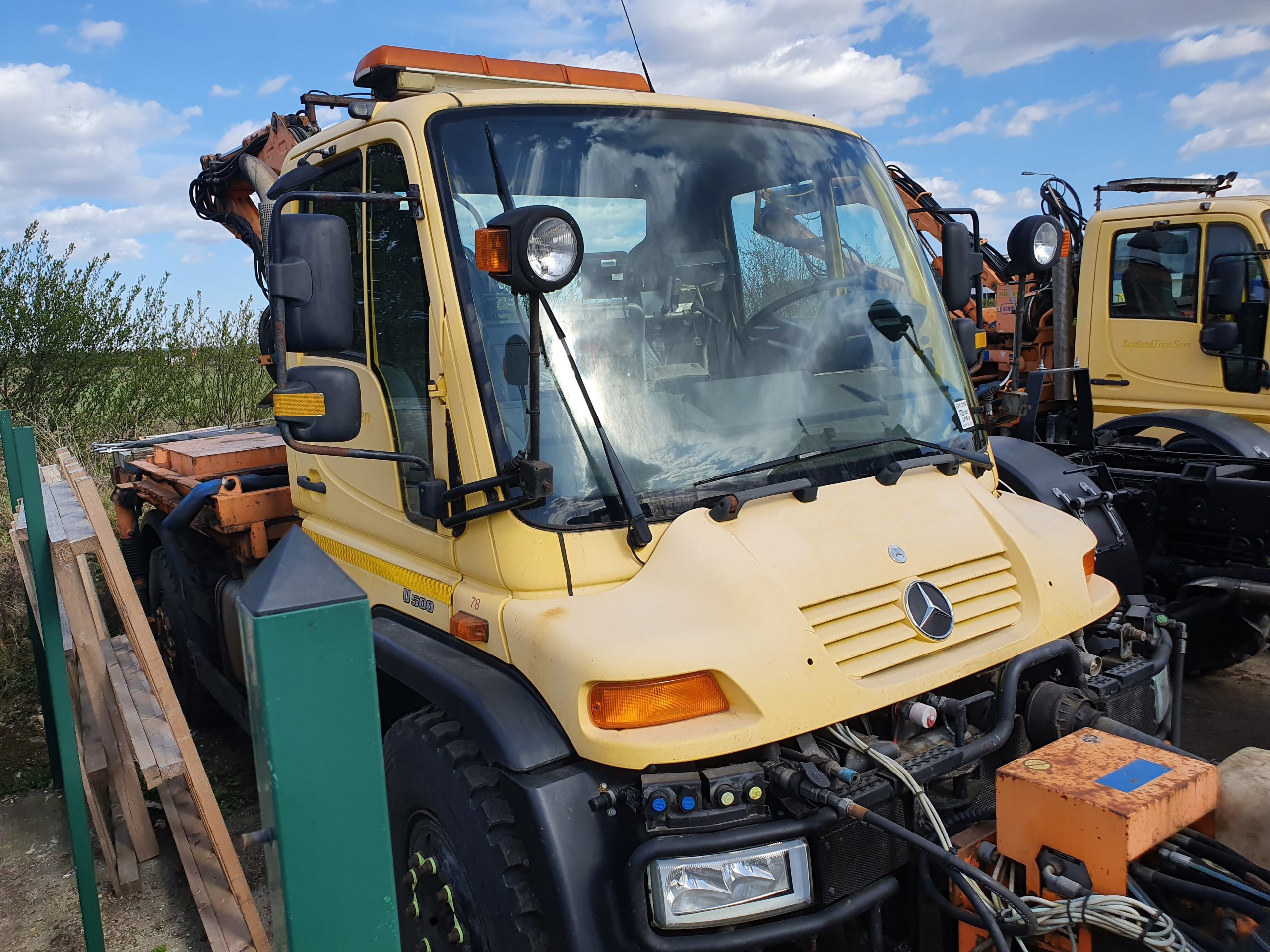 Unimog U500 LWB available for sale