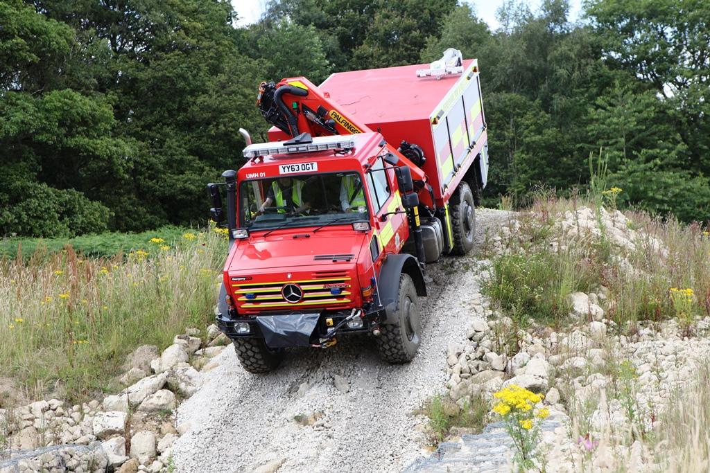 Unimog U5000 off road tests